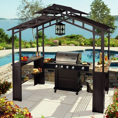 Not Really The Tiki Bar Part But Certainly Fits In Grill