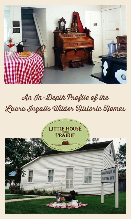 Profile about Laura Ingalls Wilder Historic Homes in De Smet, South Dakota - Little House on the Prairie