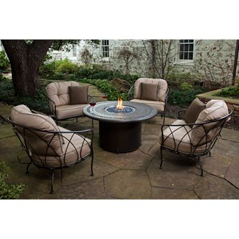 Bon Costco: Medina 5 Piece Fire Chat Set By Woodard