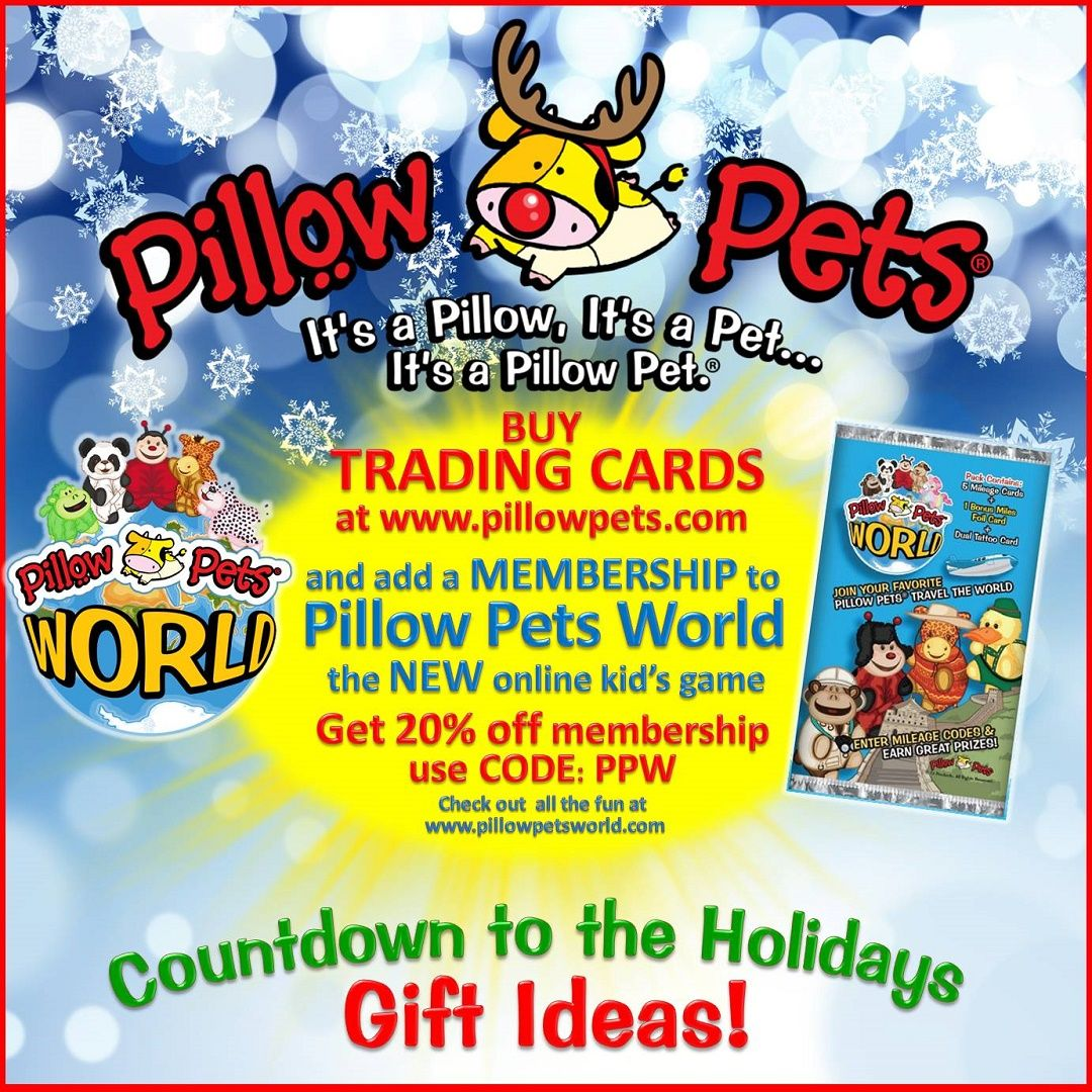 pillow pets world the fun game where