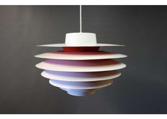 Danish Verona Pendant by Svend Middelboe for Fog and Mørup, 1970s for sale at Pamono