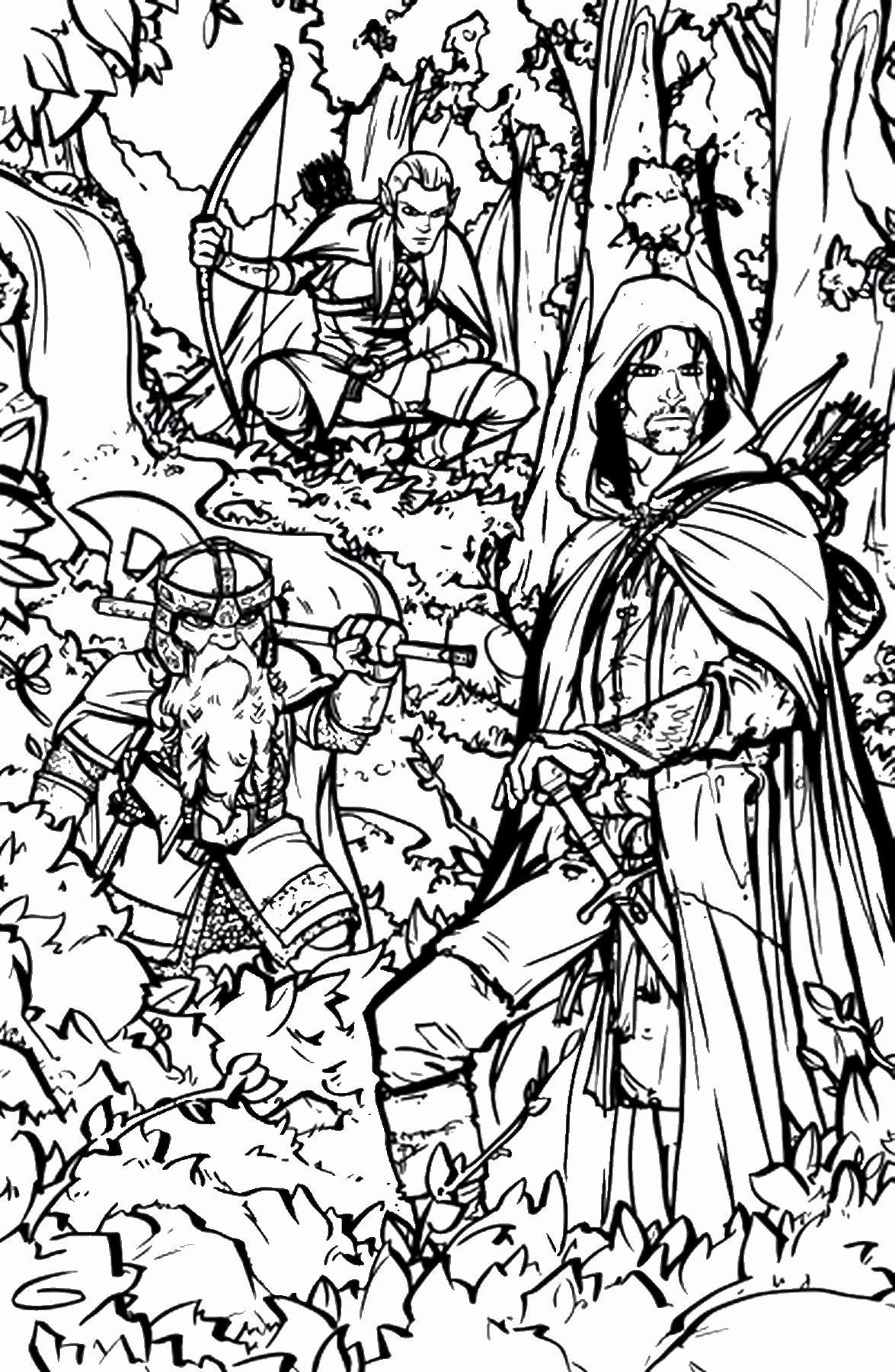 Lord Of The Rings Coloring Book New Lord Of The Rings Coloring Pages In 2020 Coloring Pages Coloring Book Pages Coloring Pictures