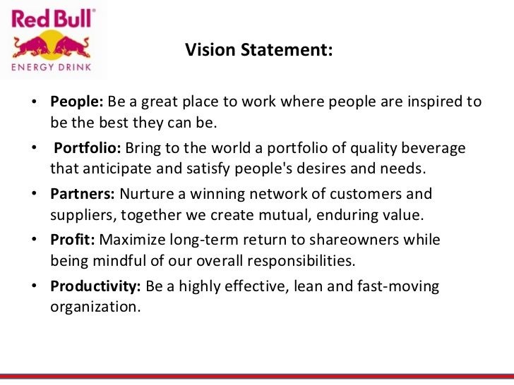 Personal Vision Statement Examples Samples - Template