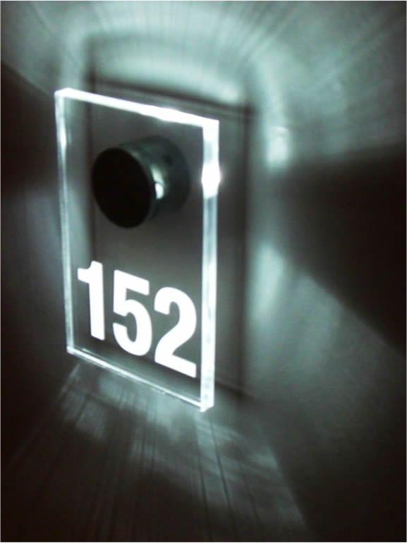 Led Room Number Illuminated Signage Signage Design