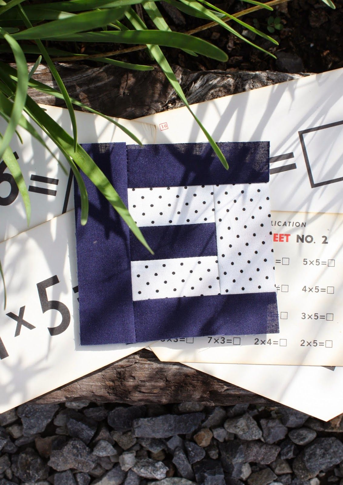 Temecula Quilt Company Little Letters E  Quilt Sew Notes