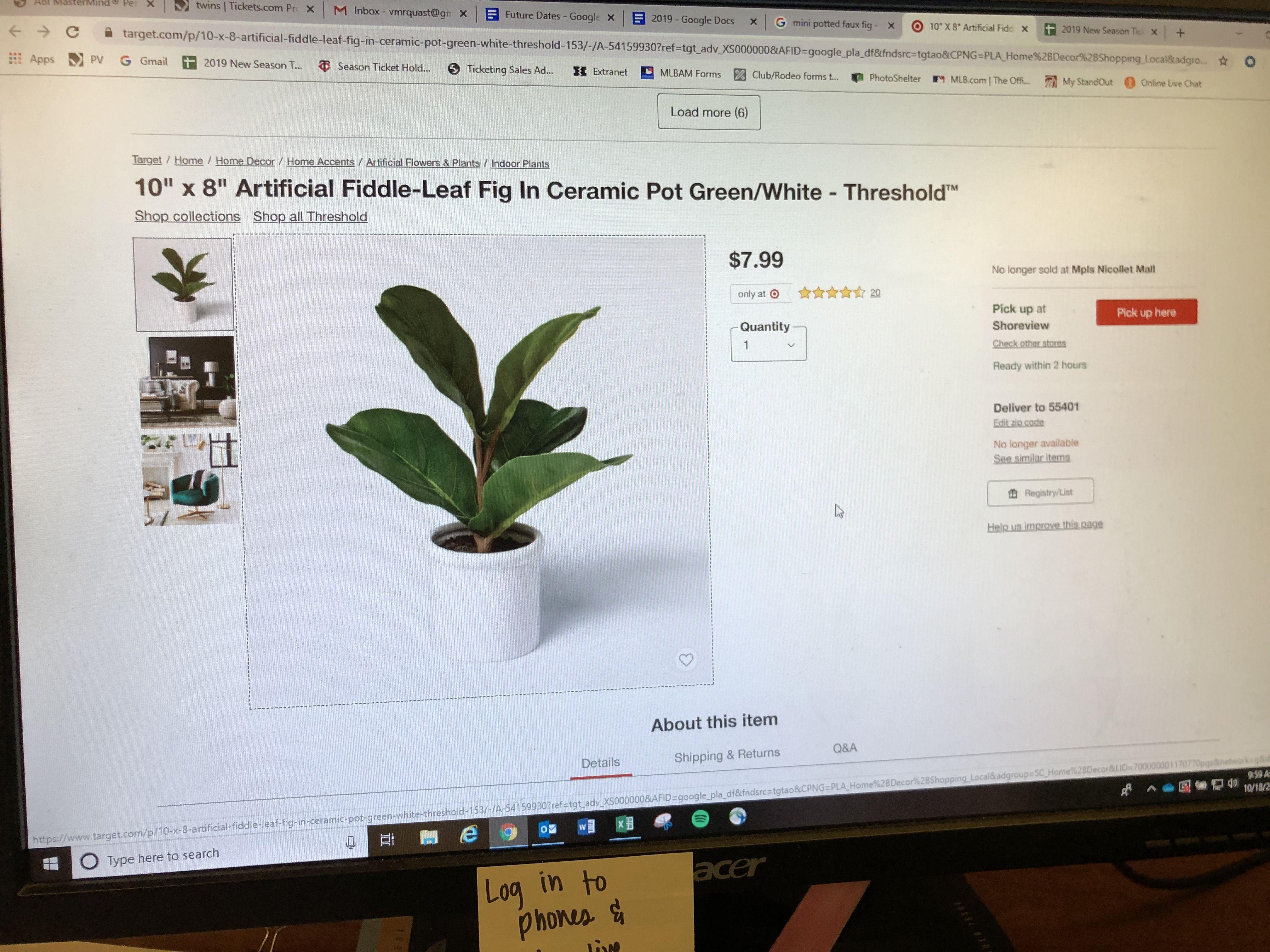Pin By Victoria Quast On Home Ceramic Pot Fiddle Leaf Fig Fiddle Leaf