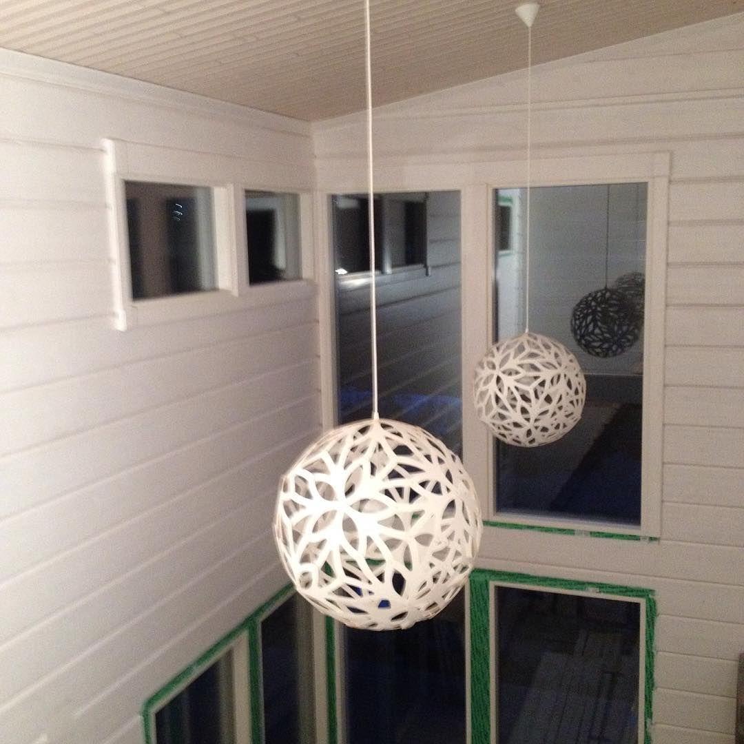 ☆ SPOTTED ☆ #davidtrubridge FLORALS in white  Image by Mika Sillanpää, via instagram