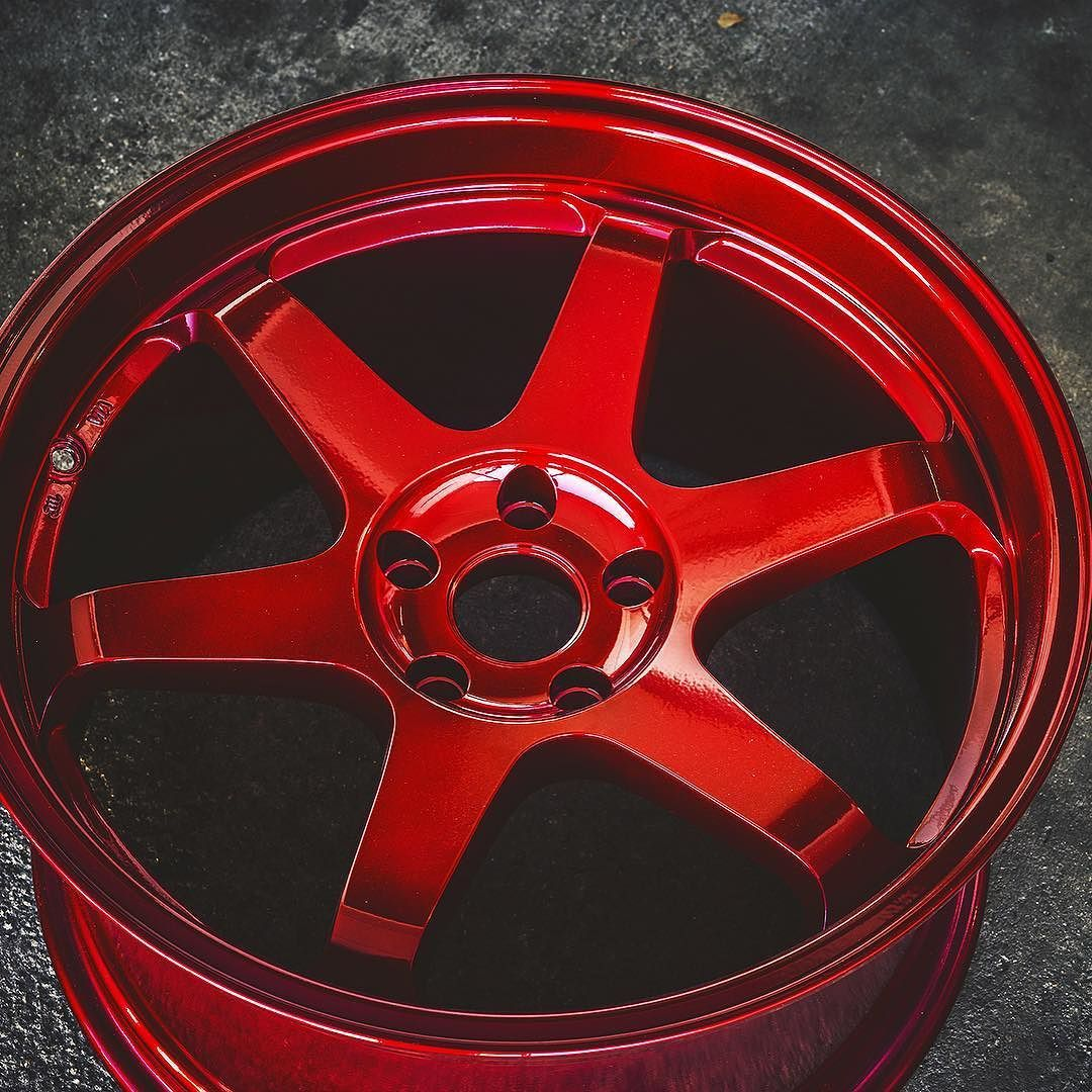 Candy apple red ES2 are sure to make any car stand out. Let's get ...