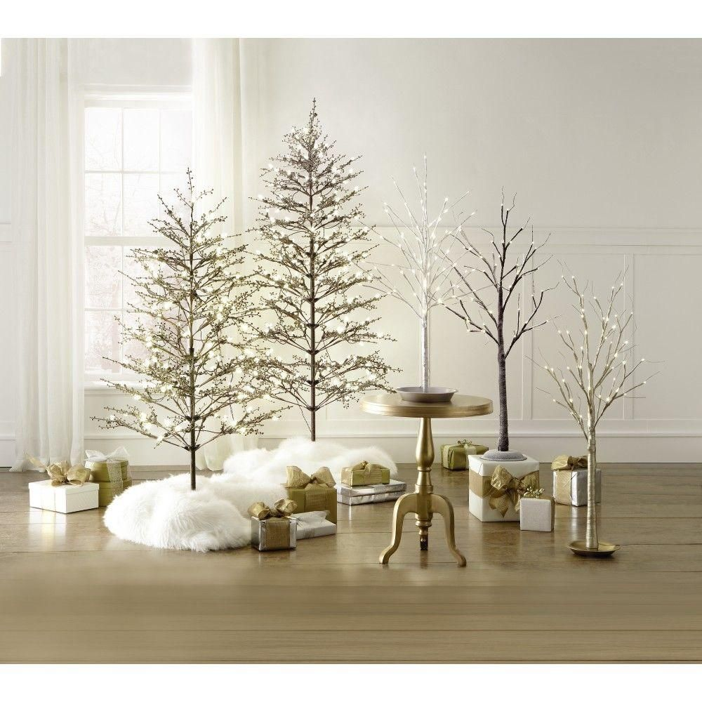 Pre Lit Tabletop Christmas Trees Artificial