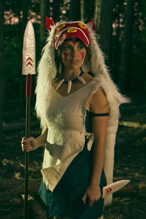 Pin By Julian Chambliss On Cosplay Princess Mononoke Cosplay