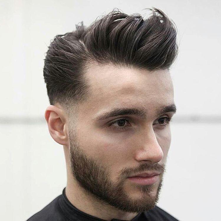 Neue Frisuren 2017 Pompadour Frisur Für Männer Styling