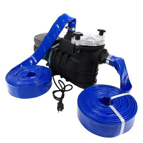 Emergency Water Pump Portable Pumping Kit Flood Water Pump All Purpose Self Priming Water Pump Model 299 99 2 Of The 25 Foot 1 1 2 Diameter Pvc Braided H