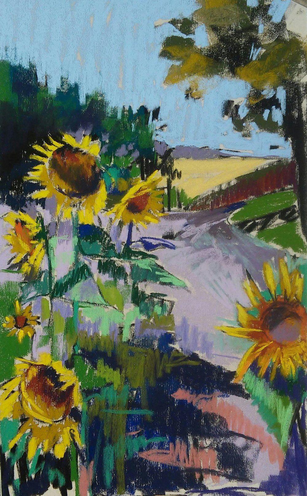 G dibujos pinterest sunflowers pastels