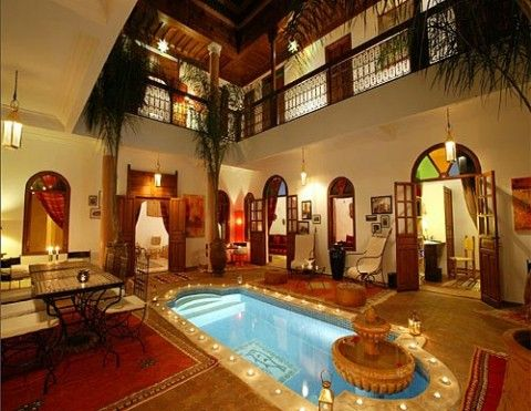 moroccan house design so gorgeous | architecture, interior, and