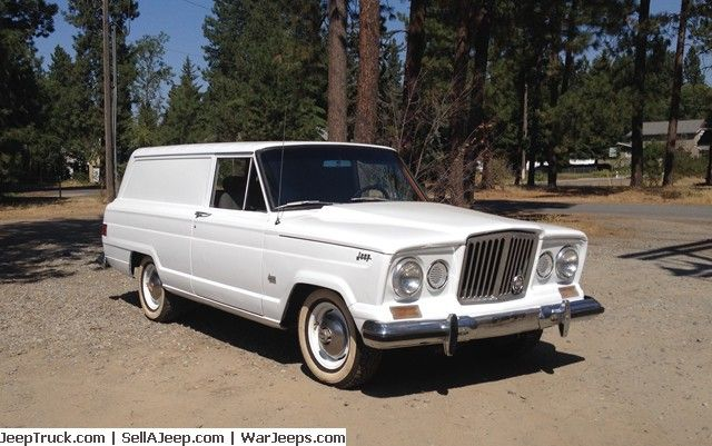 1963 Jeep Wagoneer Panel Delivery It Is The 41st Wagoneer To Roll