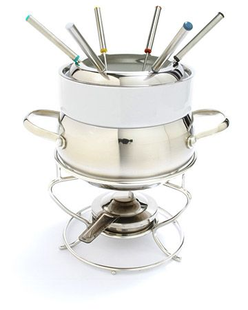 Stainless Steel Fondue Fondue and Stainless steel