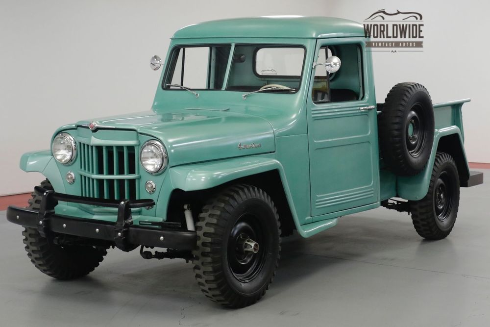 1952 Jeep Willys Kaiser Overland Restored 4x4 Hurrance Willys Jeep Willys Jeep