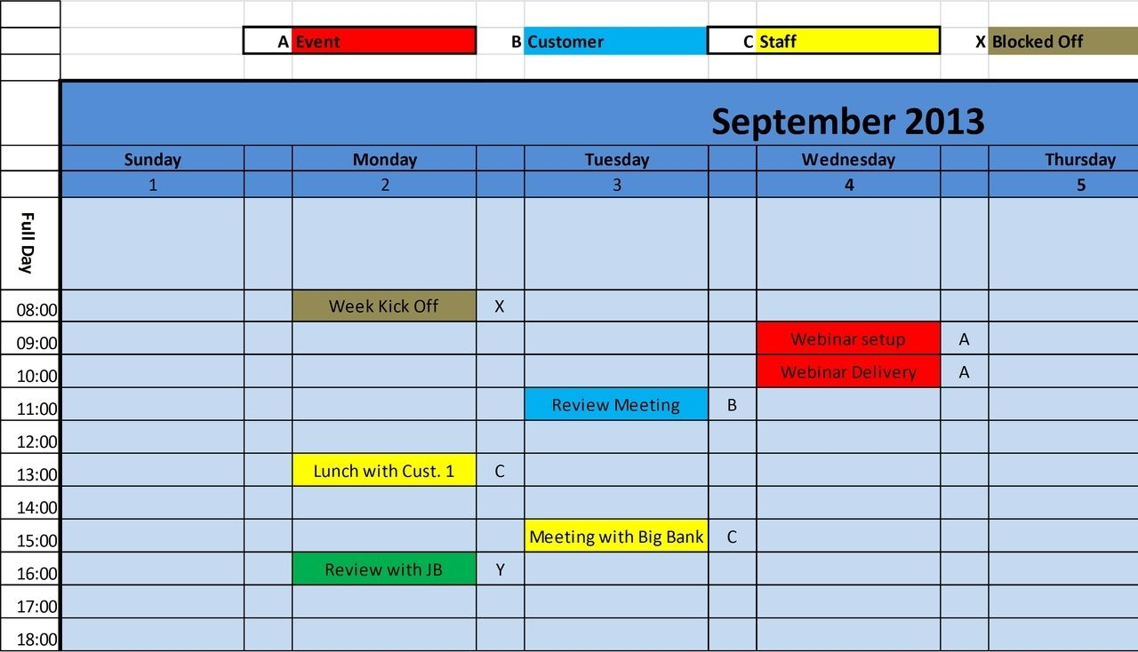 5+ Monthly Planner Templates – PDF