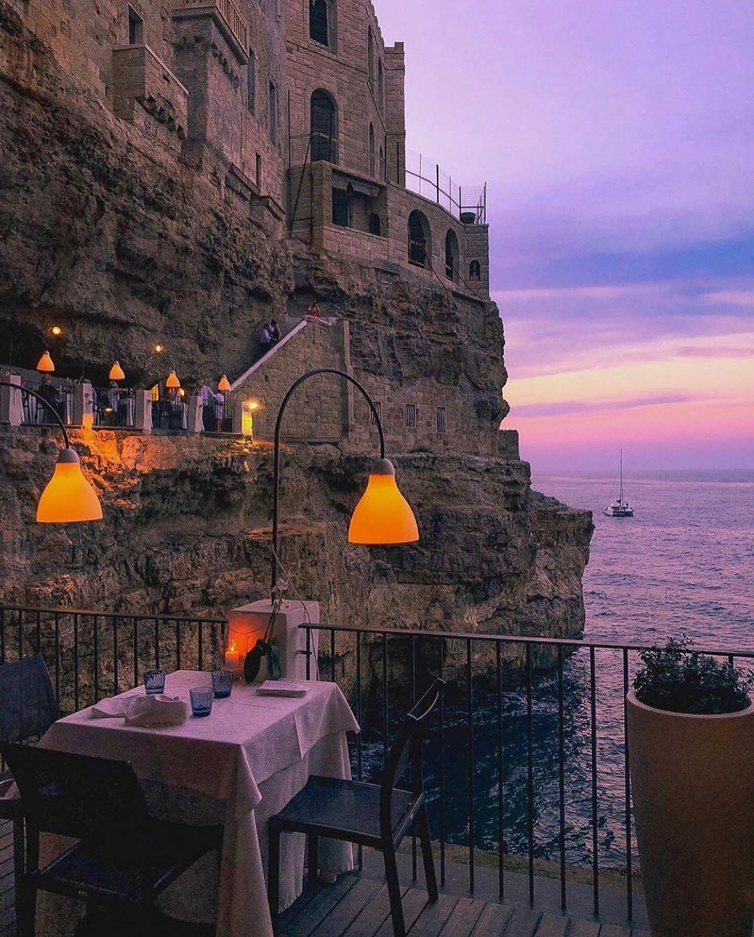 "Italia ✦ SUPER ITALY ✦  🇮🇹 on Instagram: ""Photo: @pinkines  #super_italy 🇮🇹 #PolignanoAMare  @SuperHubs Team  #italia #italy #europe #super_europe #living_europe…"""