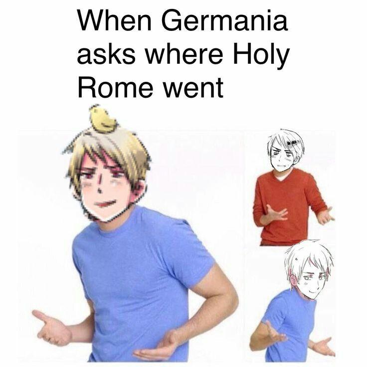 Anime memes german