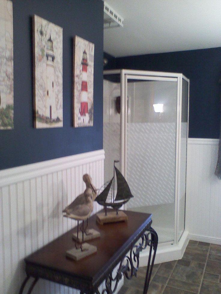 Nautical Themed Bathroom Nautical Bathroom Theme Beach Decor - Nautical bathroom sets for small bathroom ideas
