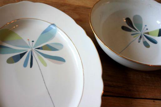 Birthday plates