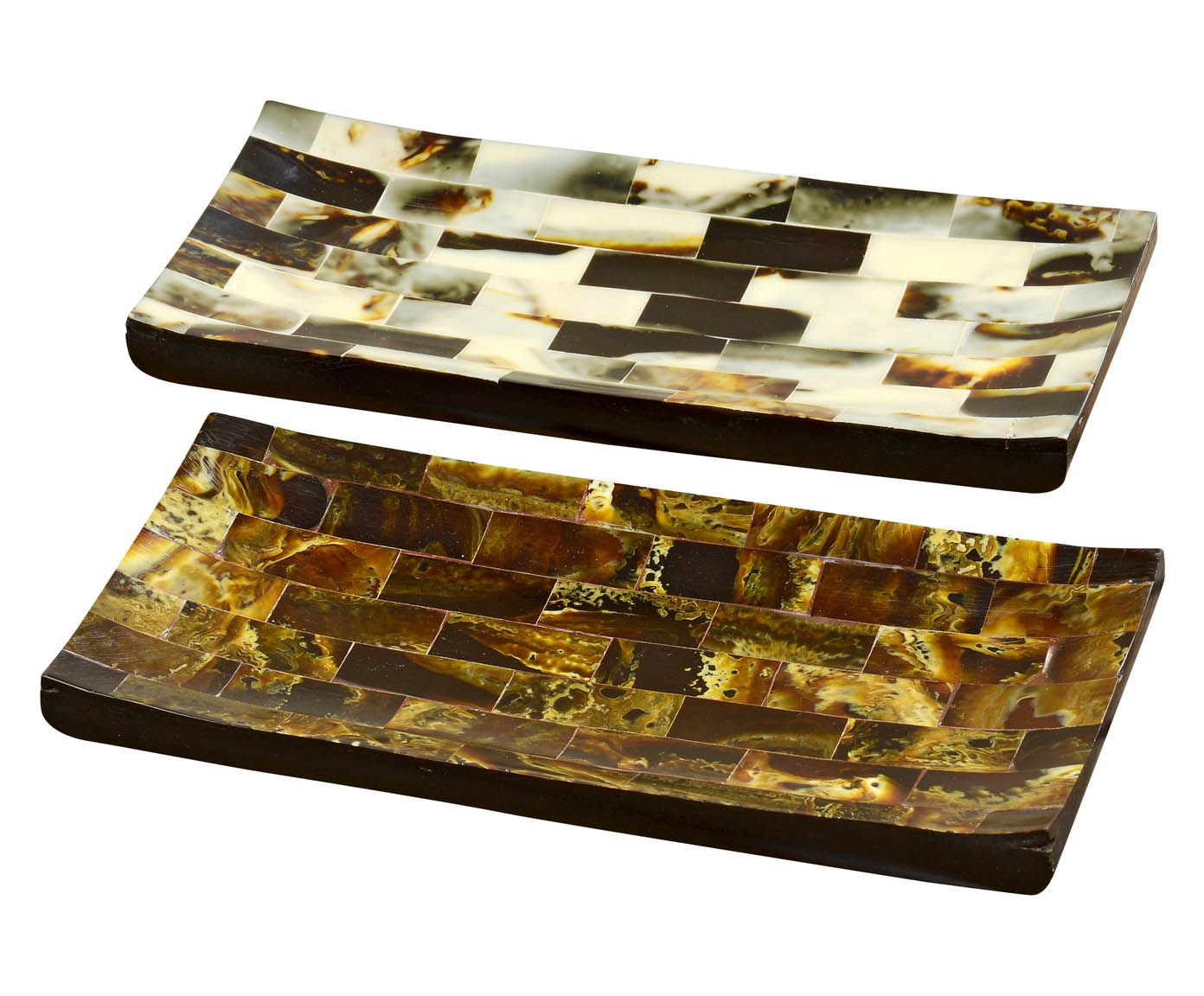 Deko-Tablett Rachel, 2-tlg., B 22 cm | Westwing Home & Living