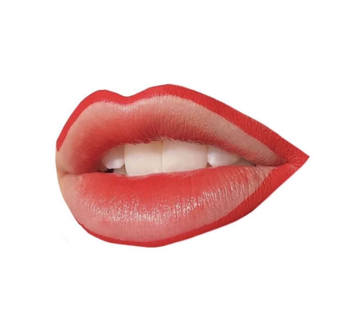 Red Lips Lipstick Polyvore Moodboard Filler Lipstick Art