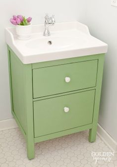 Ikea Hemnes Odensvik Painted In A Green Colour Perhaps The