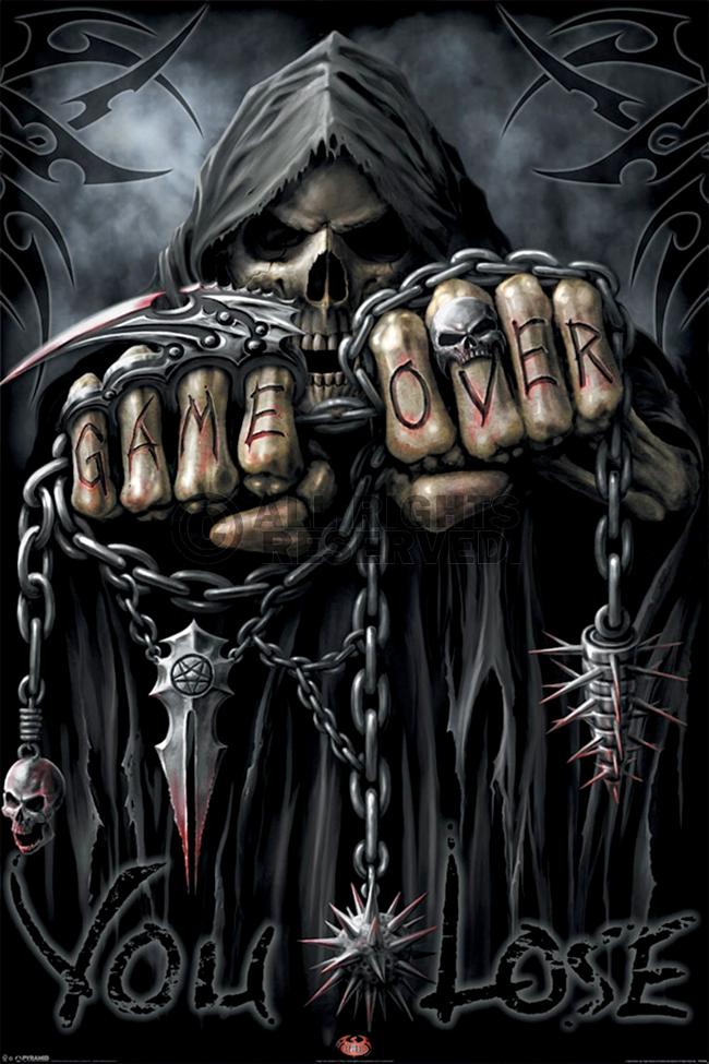 c3fef37da Grim Reaper - Spiral Direct | skulls bones | Grim reaper pictures ...