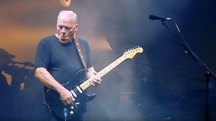 David Gilmour Has Refined His Craft With Epic Performance Of The Comfortably Numb Solo Society Of Rock Video David Gilmour Comfortably Numb Pink Floyd Fan