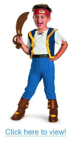 6be49412f638 Disney Jake And The Neverland Pirates Jake Deluxe Costume