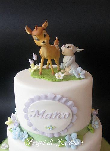 bambi birthday party decorations Disney Bambi Figurine Set Cake