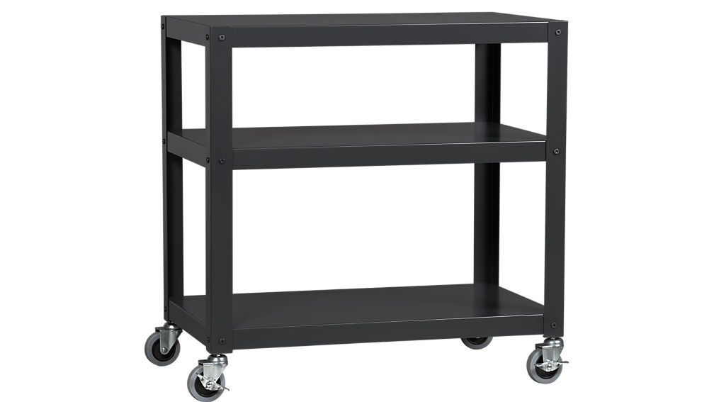 rolling carts for office. Shop Go-cart Carbon 30\ Rolling Carts For Office
