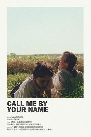 me by your name poster