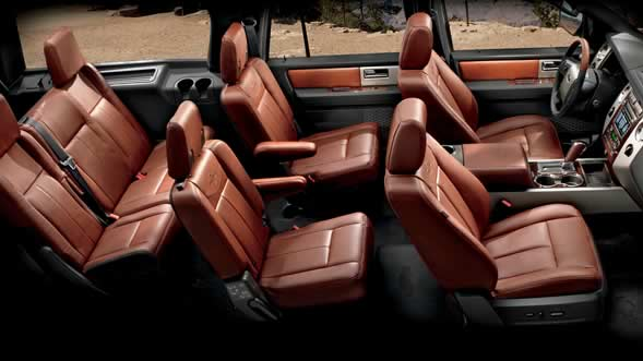 King Ranch Ford Expedition El