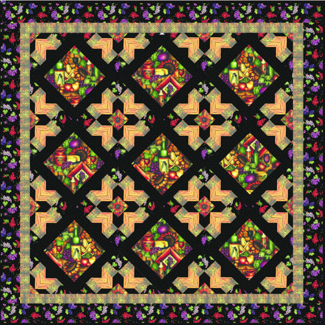 Tuscan Quilt   Tutorials, Flower quilts and Patterns : flower quilt patterns beginners - Adamdwight.com