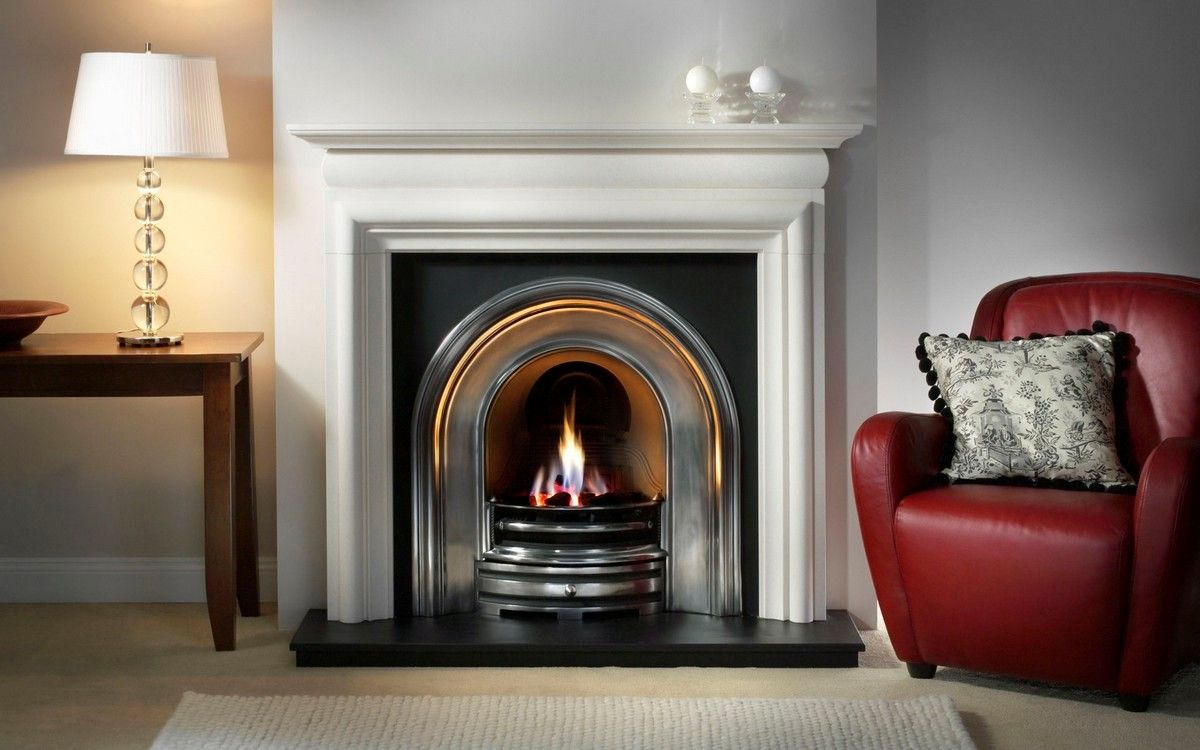 sears electric fireplace designs with white mantel basement