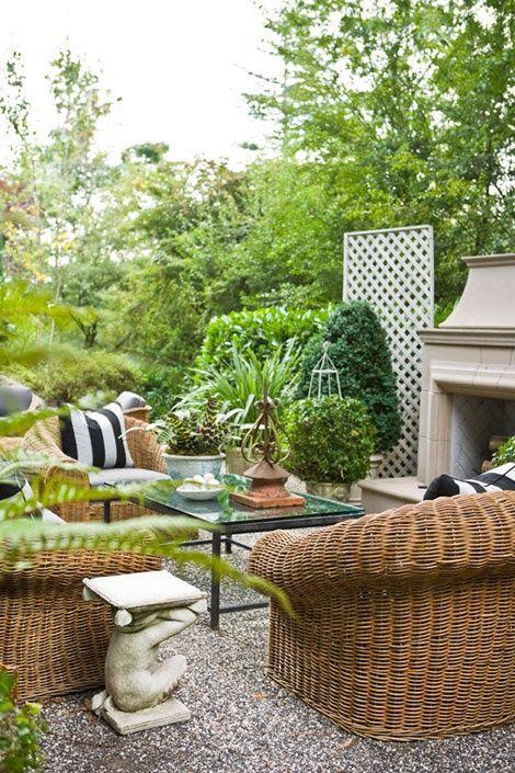 Elements Of Style Blog Outdoor Gardens Backyard Patio Garden
