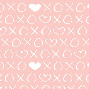 Colorful Fabrics Digitally Printed By Spoonflower Xoxo Love Sweet Hearts And Kisses Print For Lovers Wedding And Valentine In Soft Baby Girls Pink Pink Wall Art Baby Soft Pink Girl