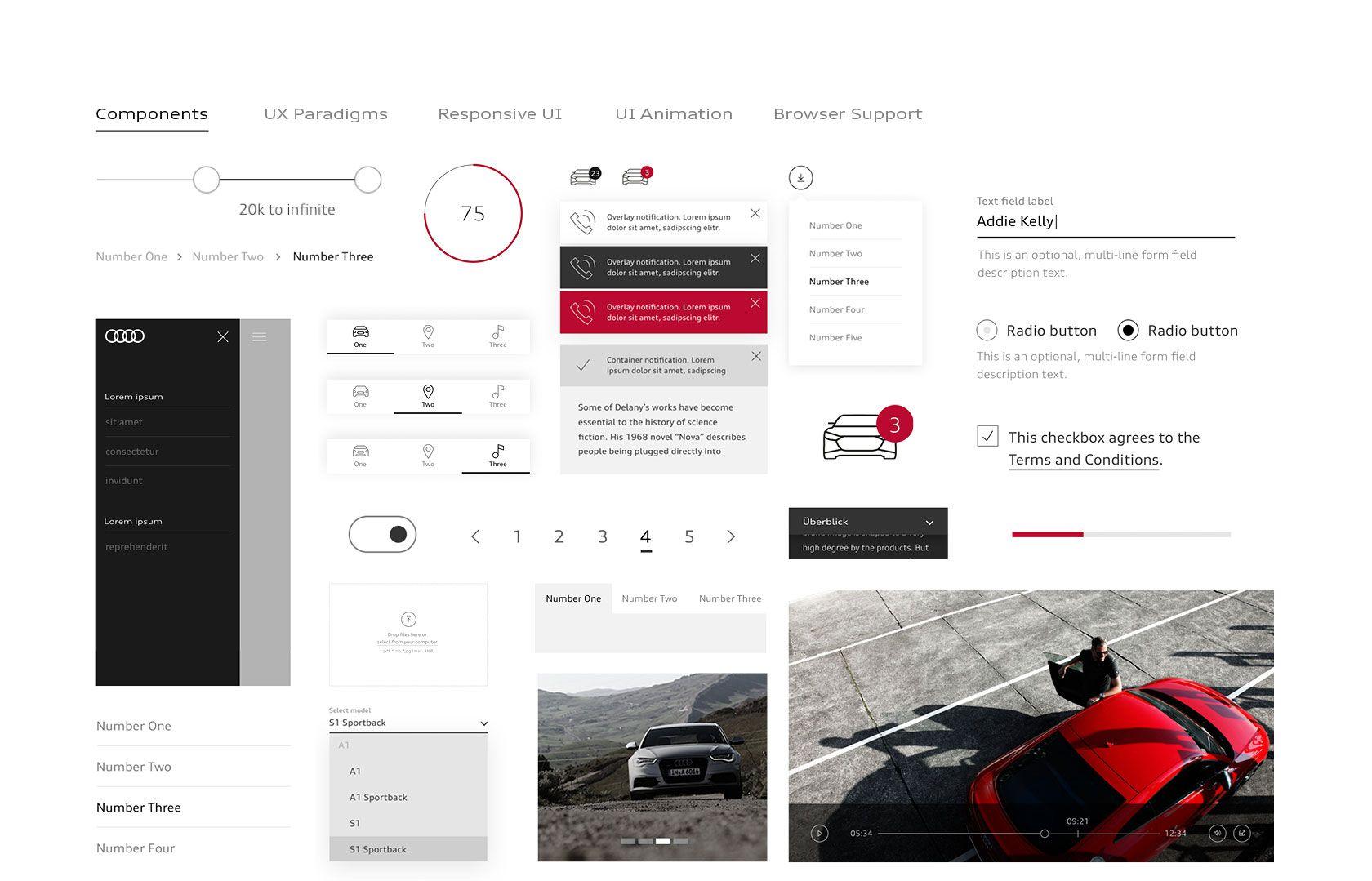 AUDI AG — Digital Branding | STRICHPUNKT DESIGN | Branding ...