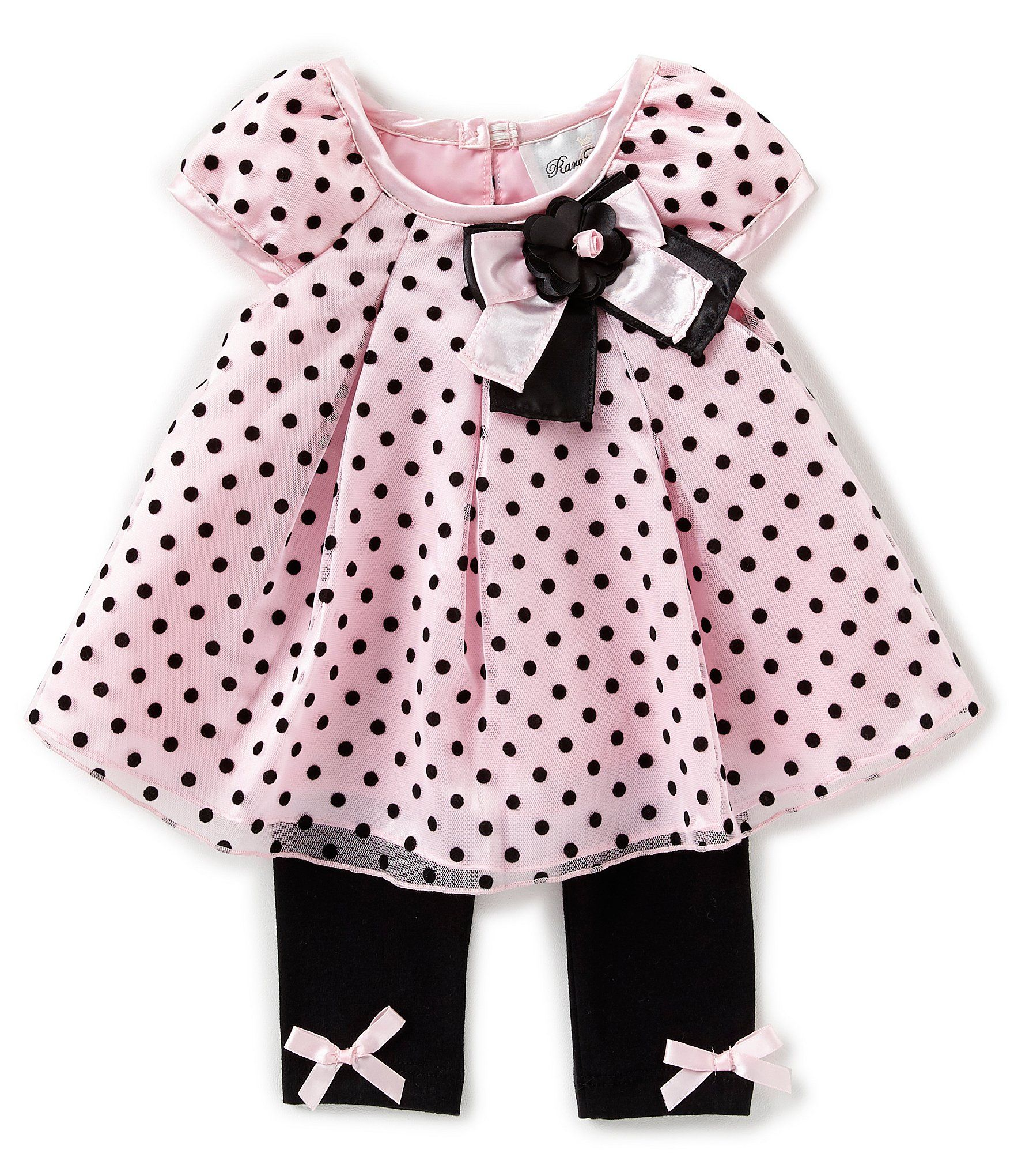 Baby Girls Outfit Leggings Top Set Newborn to 18-24 months /'Pretty and Perfect/'