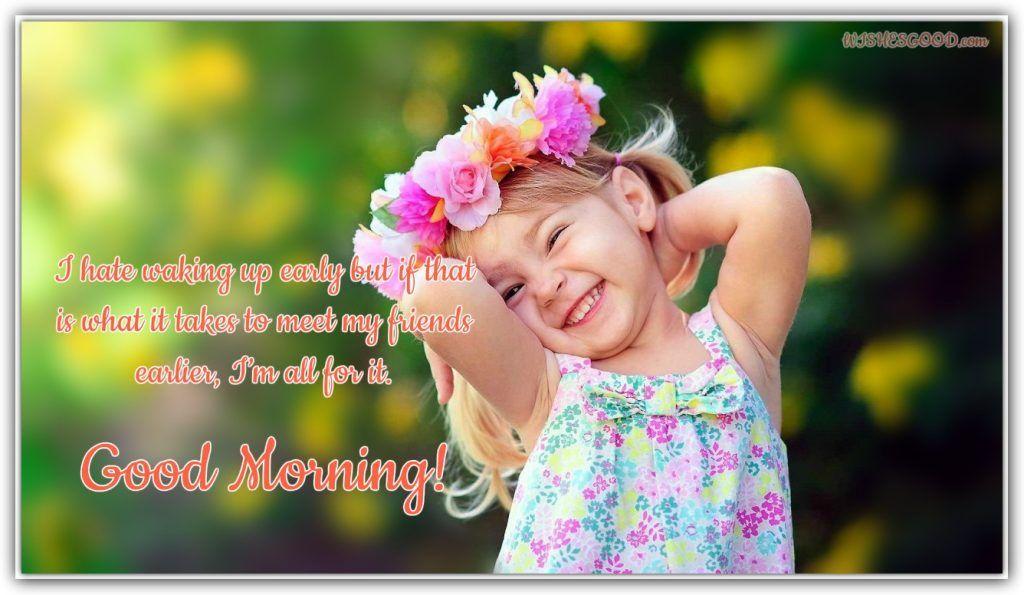 Cute Little Baby Good Morning Images Codechaoss