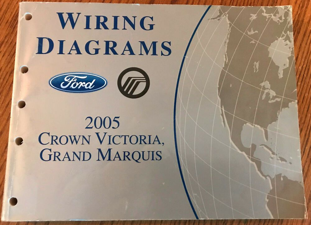 2005 Ford Crown Victoria Grand Marquis Workshop Manual And Wiring Diagrams Grand Marquis Electrical Wiring Diagram Ford