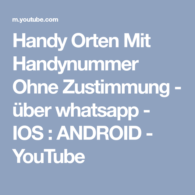 android handy orten whatsapp