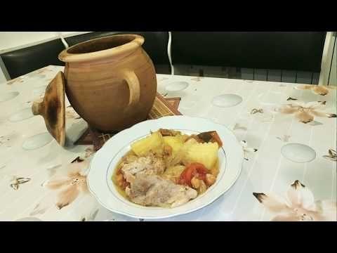 Photo of Meat (lamb) recipe in stew..Saxsı qabda meat (quzu) recept ..