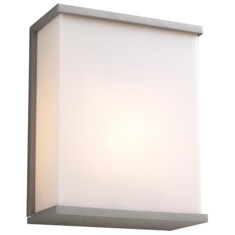 Silver Outdoor Wall Light, Modern Outdoor Wall Lights Silver