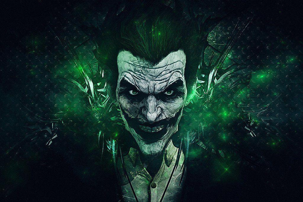 Batman Arkham Origins Green Joker Poster Joker Hd Wallpaper Joker Wallpapers Joker Images