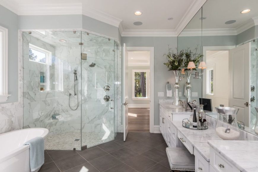 Photo of 34 Large Luxury Primary Bathrooms that Cost a Fortune in 2020