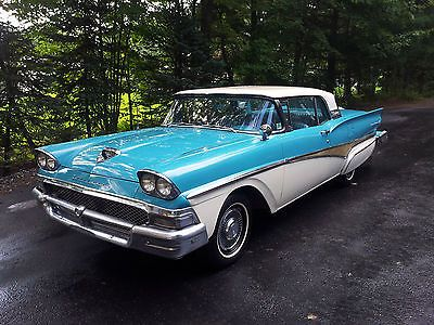Ebay 1958 Ford Fairlane 500 Two 1958 Ford Fairlane 500 Retractable S With Nos Fomoco Parts And Used Parts Carp Ford Fairlane 500 Ford Fairlane Fairlane 500